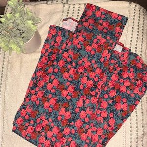 Lula roe floral skirt/dress